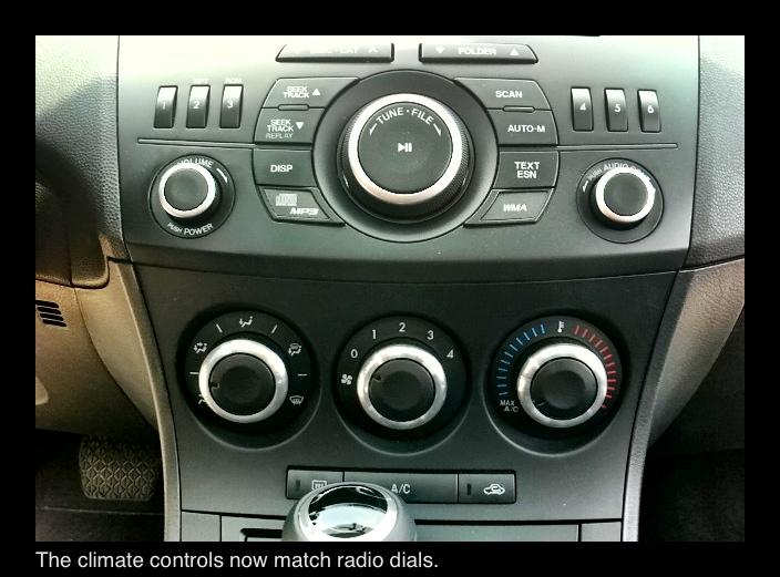 Mazda3 Hvac Knobs Mazda3carpet Com By Mazeuro